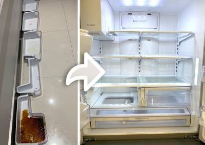 Cleaning-Fridge-Before-and-After