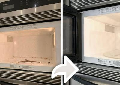 Cleaning-Microwave-Before-and-After
